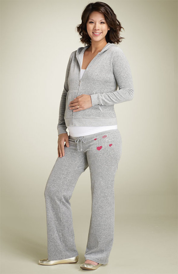 Juicy Couture Maternity 'Bling Galore' Hoody & Pants - OT007155
