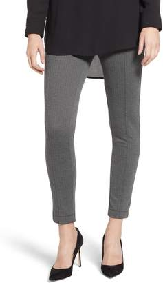 Anne Klein Herringbone Knit Skinny Pants