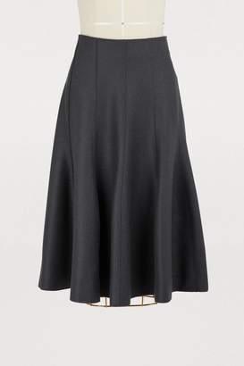Nina Ricci Wool midi skirt