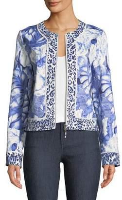 Berek Rainforest Zip-Front Jacket, Petite