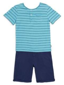 Splendid Baby's, Toddler's& Little Boy's Henley Tee and Pants Set