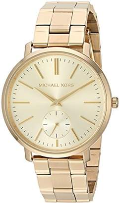 Michael Kors Women's Jaryn Japanese-Quartz Watch with Stainless-Steel-Plated Strap