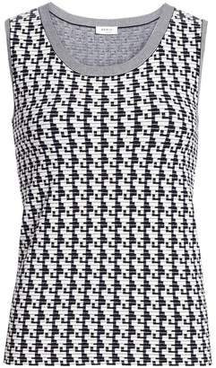 Akris Punto Soundboard Print Sleeveless Top
