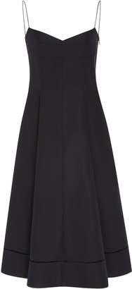 Isabella Collection Khaite Cotton Midi Dress