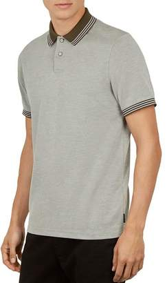 Ted Baker Rings Polynosic Slim Fit Polo Shirt