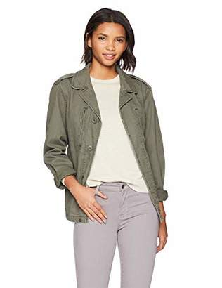 Alpha Industries Womens F-2 French MID Length Field Coat