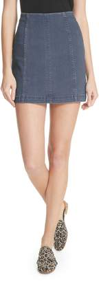 Free People Modern Denim Miniskirt