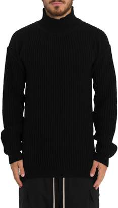 Rick Owens Ribbed Sisypjhus Turtleneck