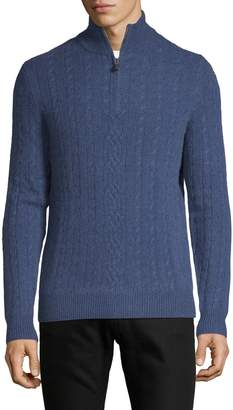 Saks Fifth Avenue Cashmere Cable-Knit Cashmere Sweater