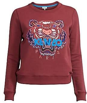 fc0972b7 Kenzo Women's Slim-Fit Classic Tiger Cotton Sweatshirt
