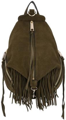 Rebecca Minkoff fringed backpack $425.91 thestylecure.com