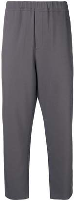 Oamc cropped tapered trousers