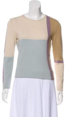 Valentino Coolorblock Wool-Cashmere-Blend Sweater