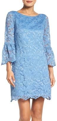 Eliza J Bell Sleeve Lace Dress