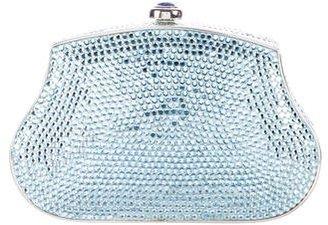 Judith Leiber Crystal-Embellished Minaudière $600 thestylecure.com