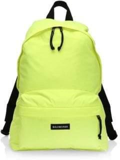 Balenciaga Yellow Backpacks For Men - ShopStyle UK 6f56b9335bcf0
