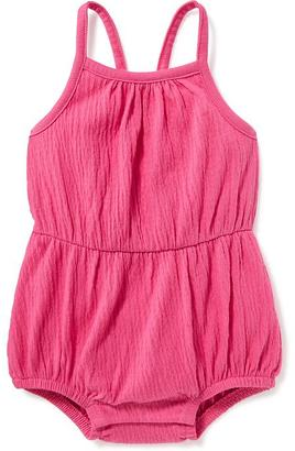 Jersey Bow Back Bubble Romper for Baby $16.94 thestylecure.com