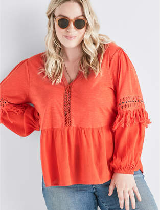 Lucky Brand CUTOUT PEASANT