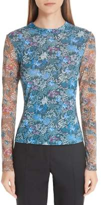 Yigal Azrouel Floral Print Top