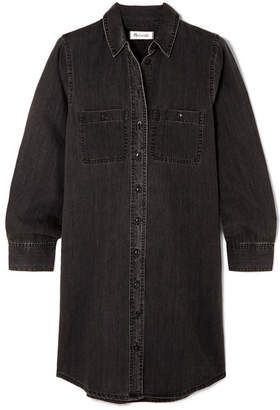 Madewell Denim Mini Dress - Black