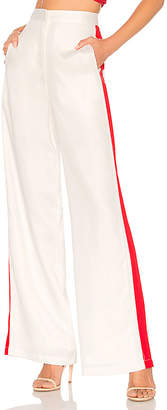 House Of Harlow x REVOLVE Wide Leg Track Pants