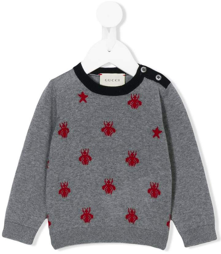 Gucci Kids spotted sweater