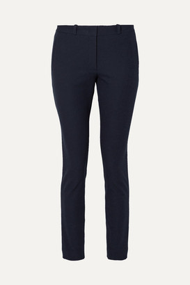 Joseph New Eliston Stretch-gabardine Slim-leg Pants - Navy