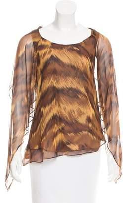 Diane von Furstenberg Silk Marroca Top