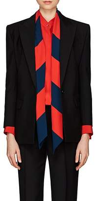 Givenchy Women's Mohair-Virgin Wool Canvas Peak-Lapel Blazer