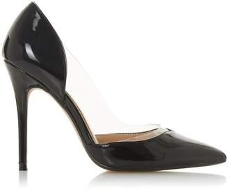 31a16ec3c5a3 Dorothy Perkins Womens  Head Over Heels By Dune Black  Cecil  Ladies High  Heel