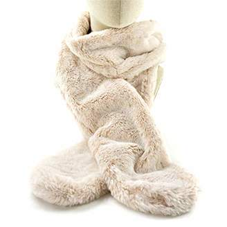 accsa Women Winter Soft Faux Fur Wrap Collar Shrug for Winter Coat