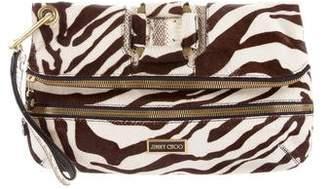 Jimmy Choo Ponyhair Clutch Bag