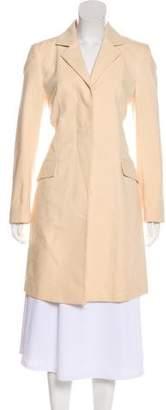 Brunello Cucinelli Single-Breasted Knee-Length Coat