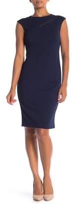 Donna Ricco Sleeveless Sheath Dress