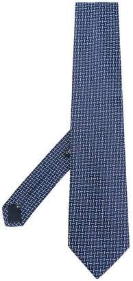 Fashion Clinic Timeless chevron pattern tie