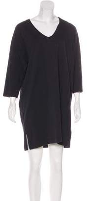 Dries Van Noten Long Sleeve Mini Dress