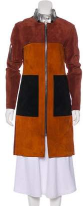 Louis Vuitton 2016 Suede Coat