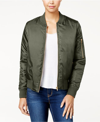 ? Say What? Juniors' Bomber Jacket $49 thestylecure.com