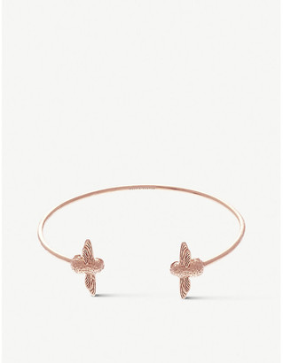 Olivia Burton Moulded bee rose gold bracelet