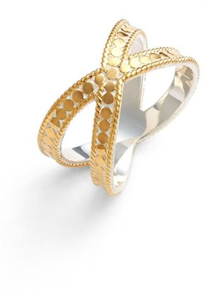 Women's Anna Beck 'Gili' Crossover Ring $200 thestylecure.com