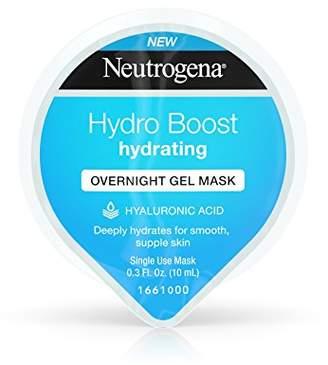 Neutrogena Hydro Boost Moisturizing Overnight Gel Cream Face Mask with Hydrating Hyaluronic Acid