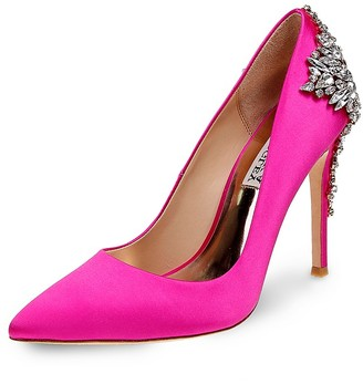 Badgley Mischka Gorgeous Embellished Pointed Toe Pumps $265 thestylecure.com