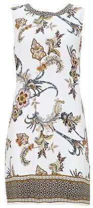 Wallis Petite Ivory Paisley Shift Dress