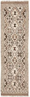 ABC Home Flat Weave Wool Runner - 2'x6'7""