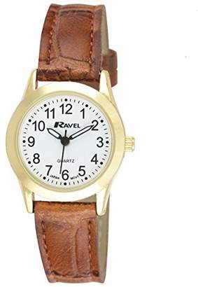 Ravel Womens Analogue Quartz Watch with PU Strap R0130.22.2