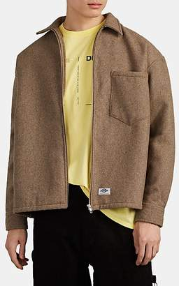 Dickies CONSTRUCT Men's Wool-Blend Oversized Workshirt - Camel