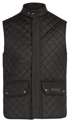Belstaff Quilted Padded Gilet - Mens - Black