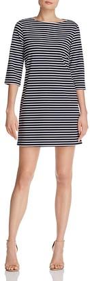 Leota Striped Elbow Sleeve Dress $158 thestylecure.com