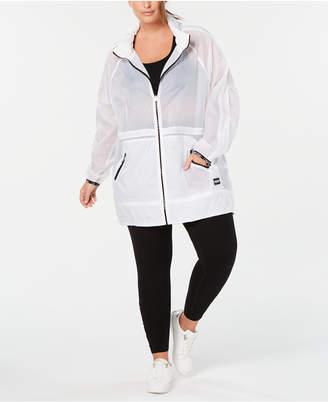 Calvin Klein Plus Size Rain Jacket