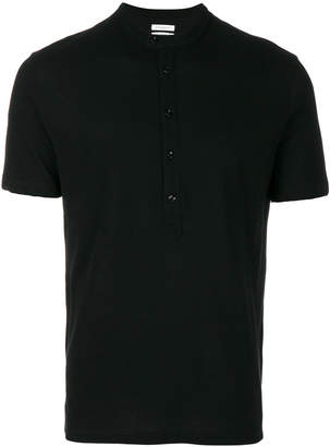 Paolo Pecora buttoned neck T-shirt